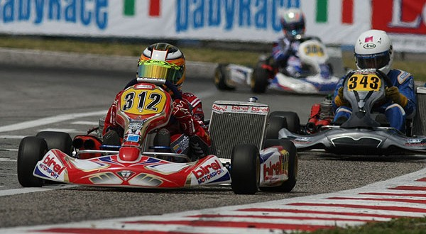 BAÍZ EN EL TOP TEN EN LA WSK FINAL CUP
