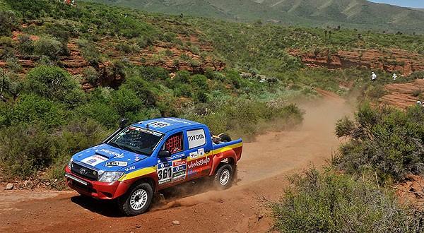 Team Azimut se consolida entre los 25 mejores del Dakar